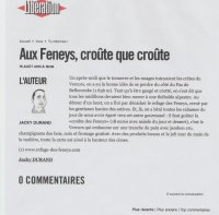 Presse :Article Libe