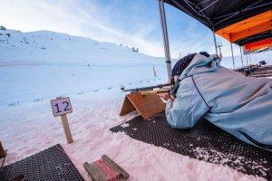 activité de biathlon dans le Vercors